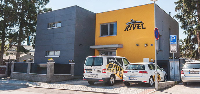 rivel cistici technika